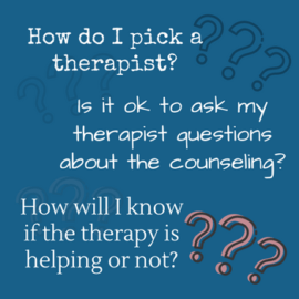 Questions to Ask Your Therapist